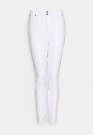 SLENDER PANT - Spodnie narciarskie - white