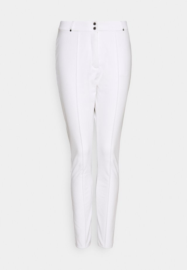 SLENDER PANT - Snow pants - white