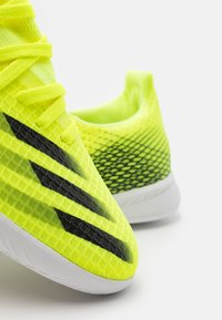 adidas Performance - X GHOSTED.3 IN UNISEX - Indoor football boots - solar yellow/core black/royal blue - 5