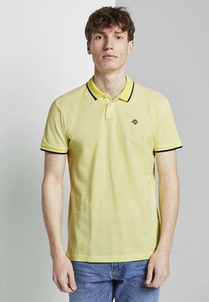 Polo shirt - canary light white base mel