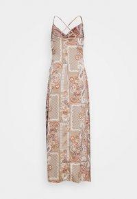 Missguided Petite - PAISLEY NECK CAMI DRESS - Maxi dress - rust - 1