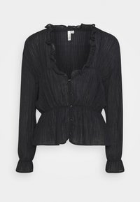 Nly by Nelly - ROMANTIC CHI BLOUSE - Bluser - black - 3