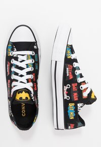 Converse - CHUCK TAYLOR ALL STAR X BATMAN - Baskets basses - white/black/multicolor - 1