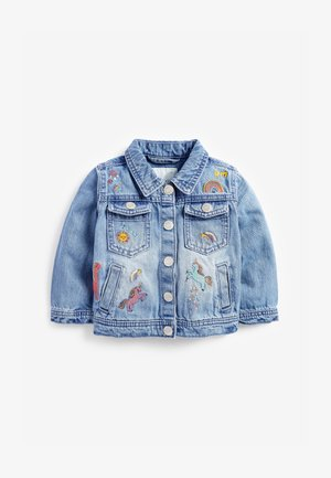 UNICORN  - Denim jacket - blue denim