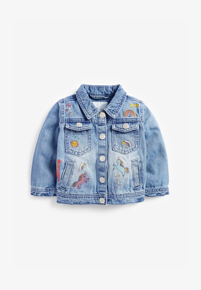 UNICORN  - Chaqueta vaquera - blue denim