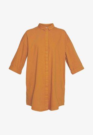 MONA LISA DRESS - Košilové šaty - orange dark