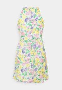 VILA PETITE - VIMILINA FLOWER DRESS PETITE - Day dress - snow white - 1