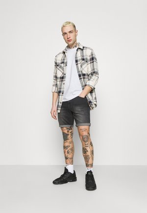 TWIN CREW 2 PACK - T-shirt basic - black/white