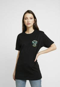 Merchcode - LADIES HAWAIIAN SURFER TEE - T-shirt print - black - 2
