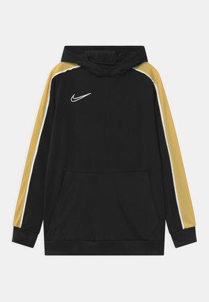 HOODIE UNISEX - Sportshirt - black/saturn gold/white