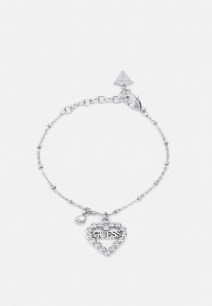HEART ROMANCE - Armbånd - silver-coloured