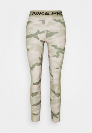 TIGHT 7/8 CAMO - Tights - stone/mystic stone