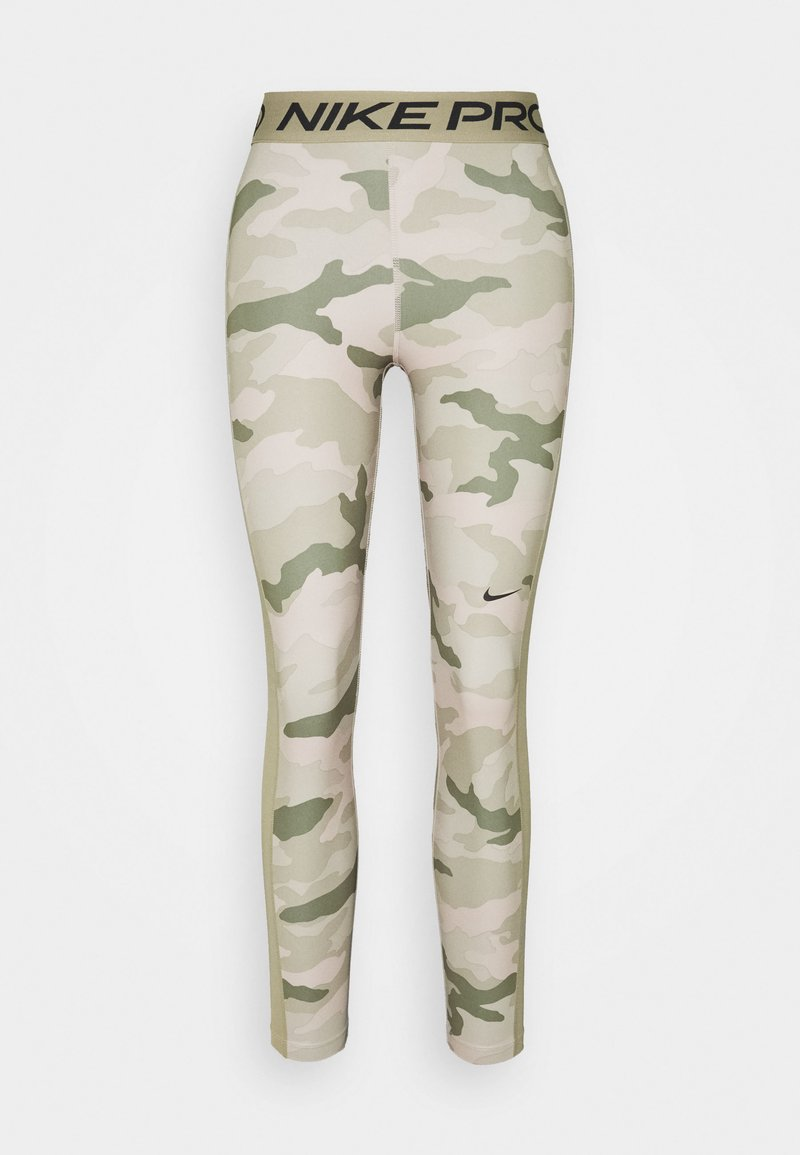 Nike Performance - TIGHT 7/8 CAMO - Leggings - stone/mystic stone