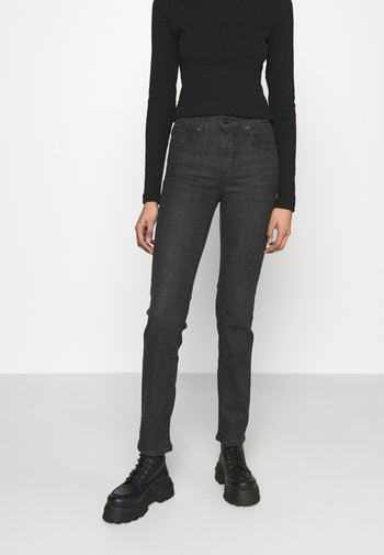 724 HIGH RISE STRAIGHT - Jeans a sigaretta - black cloud