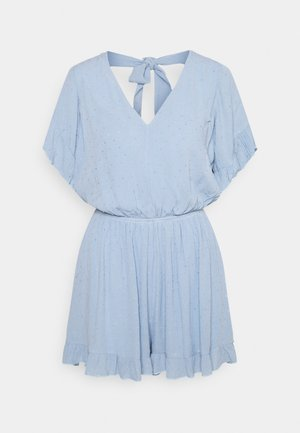 EXCLUSIVE PLAYSUIT - Mono - light blue