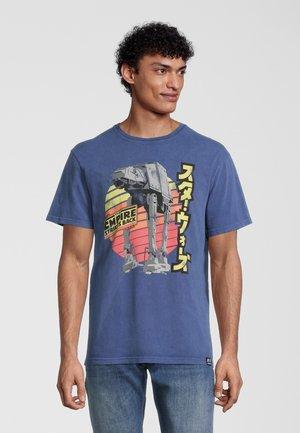 STAR WARS EMPIRE STRIKES BACK RETRO AT-AT - T-shirt print - blau