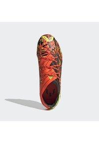 adidas Performance - NEMEZIZ MESSI .1 FG UNISEX - Tekonurmikengät - solred/syello/cblack - 3