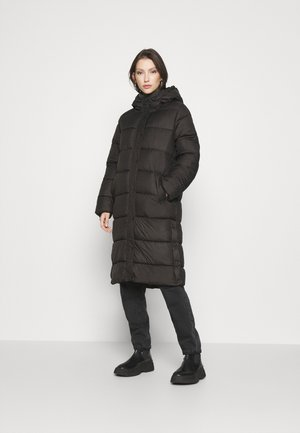 ONLNEWCAMMIE QUILTED COAT - Winter coat - black