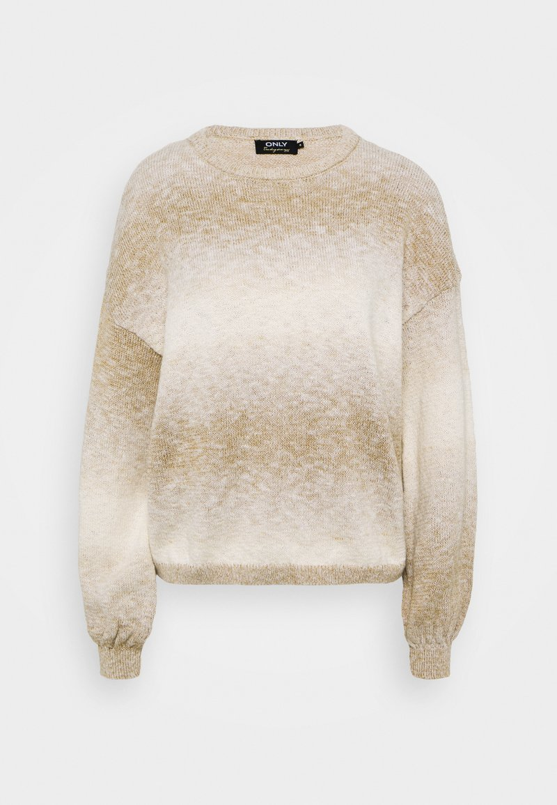 ONLY - ONLRECCA  - Jumper - pumice stone/space dye
