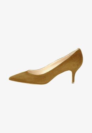 GIULIA - Classic heels - cognac