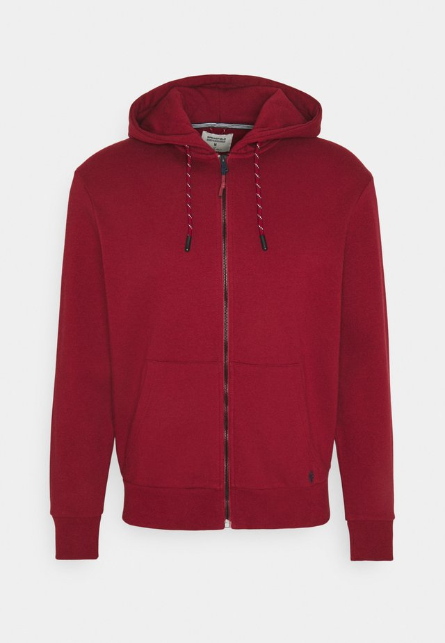 BASICA ABIERTA - Zip-up hoodie - red