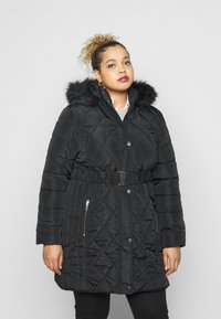 Dorothy Perkins Curve - DIAMOND LONG LUXE - Winter coat - black - 0