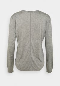 Nike Performance - ONE - Top sdlouhým rukávem - particle grey/heather/black - 7