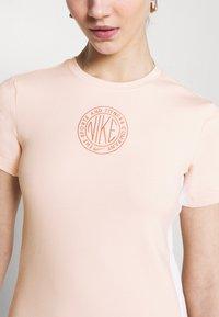 Nike Sportswear - Shift dress - orange pearl/terra blush - 4