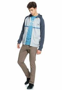 Quiksilver - EVERYDAY - Zip-up sweatshirt - light grey heather - 1