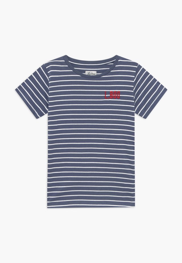 STRIPES - Print T-shirt - blue