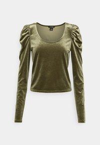 Monki - OLISA - Long sleeved top - khaki green - 4