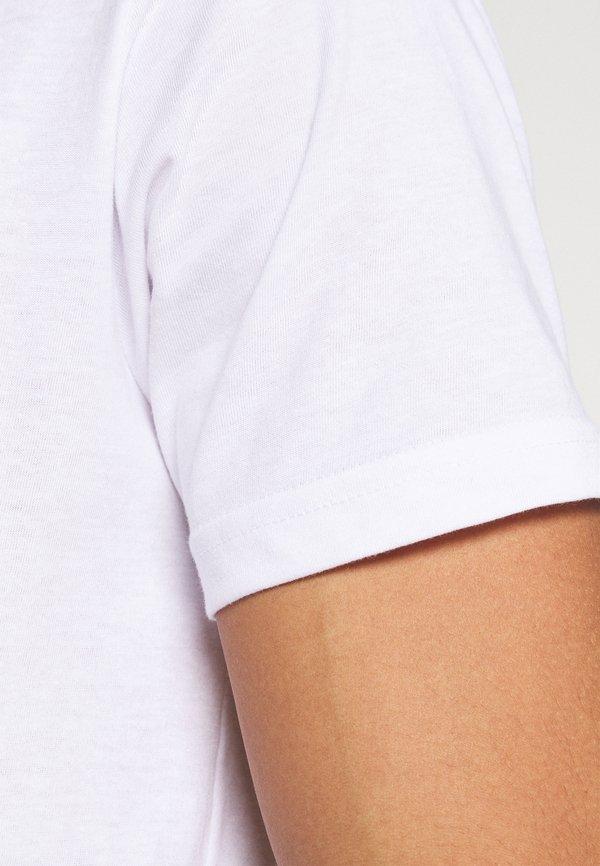 Denim Project 5 PACK - T-shirt basic - black/white/czarny Odzież Męska GJRQ