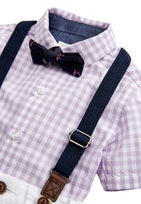 Next - LILAC SHIRT & SHORTS SET (3MTHS-7YRS) - Cinturón - purple