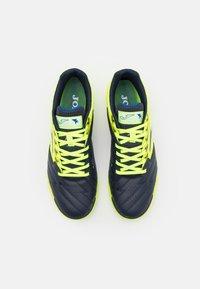 Joma - LIGA 5 - Indoor football boots - yellow/black - 3