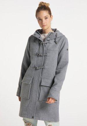 Pitkä takki - hellgrau melange