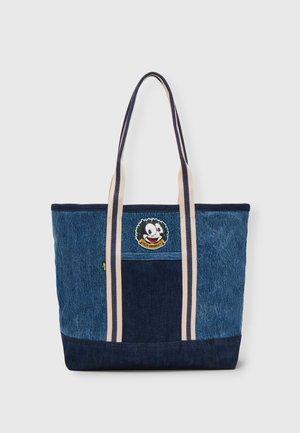 FELIX TOTE UNISEX - Tote bag - blue denim