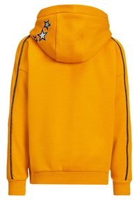 WE Fashion - MET STERREN EMBROIDERY - Jersey con capucha - yellow - 1