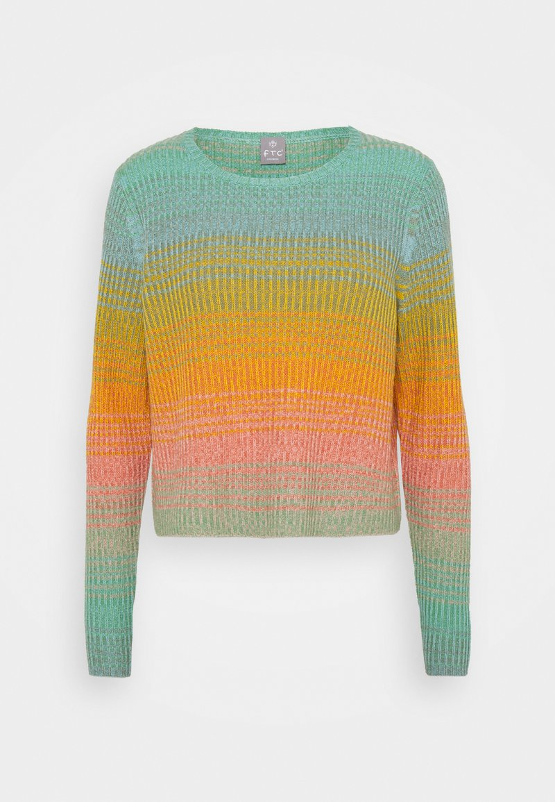 FTC Cashmere - Stickad tröja - multicolor