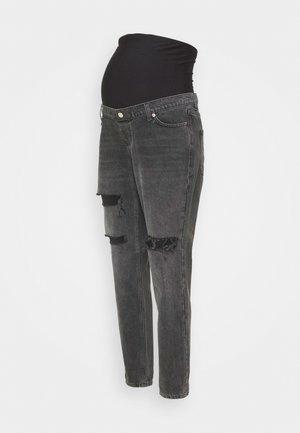 MOM - Jeans Skinny Fit - washed black