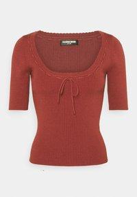 Fashion Union - LANDON - T-shirt basique - red - 3