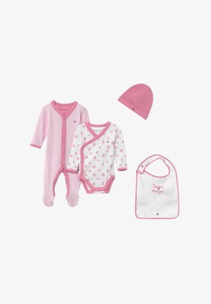 BABY PREPPY GIFTBOX SET - Čepice - pink