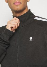 G-Star - SIDE STRIPE TRACK - Training jacket - raven - 4