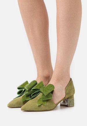 VALEGRA - Classic heels - green