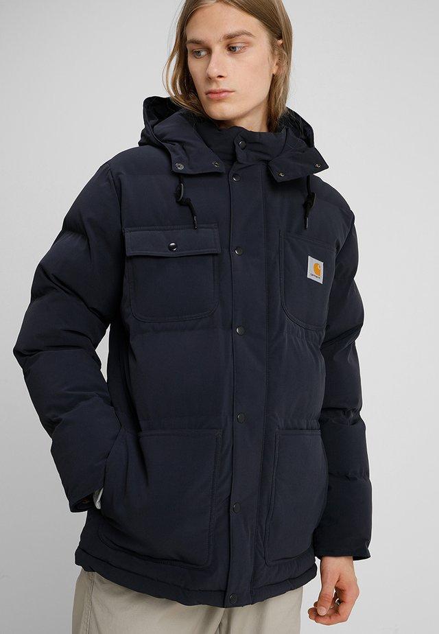 ALPINE COAT - Winterjas - dark navy/hamilton brown