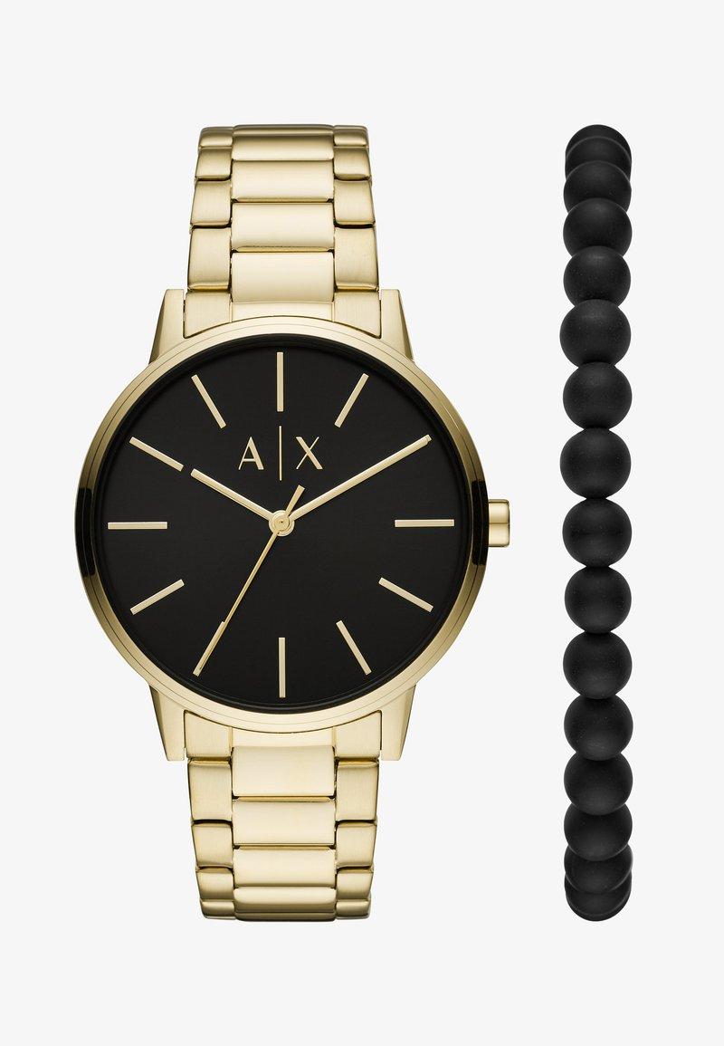 Armani Exchange - SET - Reloj - gold-coloured