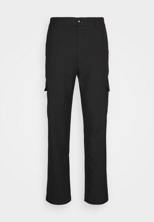 HAROLD - Cargo trousers - black