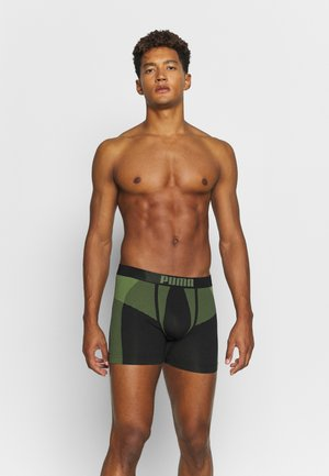 SEAMLESS ACTIVE 2 PACK - Onderbroeken - army green