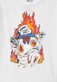 Element - GHOSTBUSTERS X ELEMENT INFERNO BOY - Print T-shirt - optic white - 2