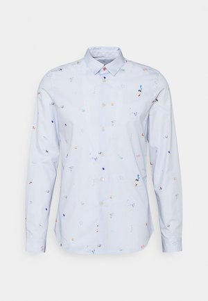 Shirt - bright blue