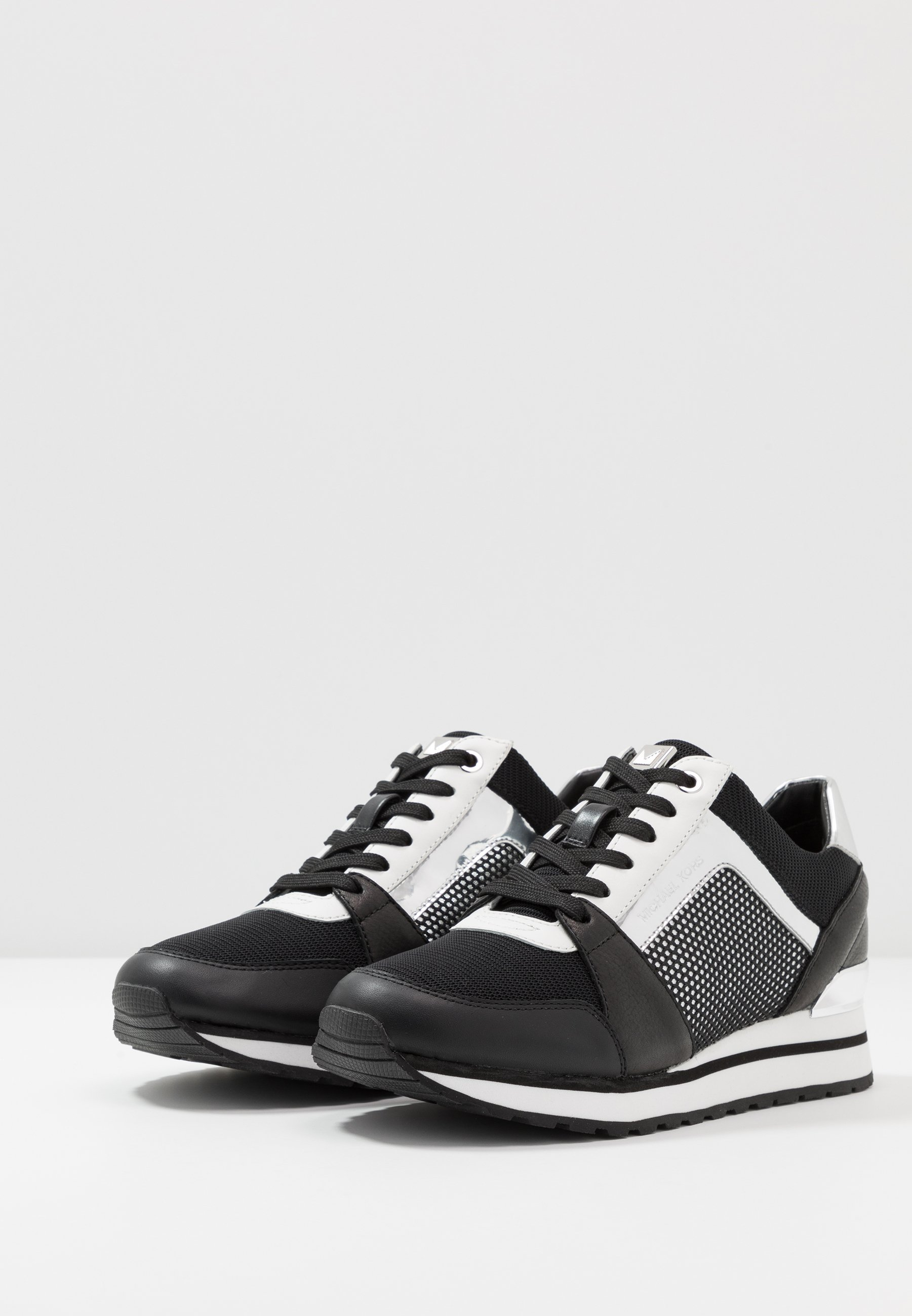 MICHAEL Michael Kors BILLIE TRAINER Sneaker low black/silver/silber